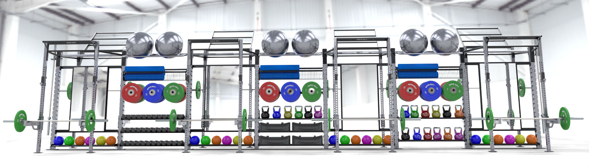 Super Duty Functional Training Rigs