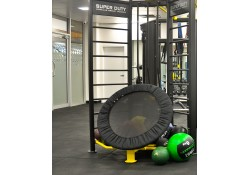 Super Duty Medicine Ball Rebounder with Stall Bars.