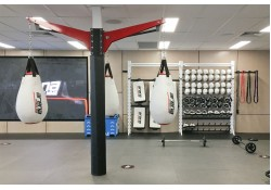 Super Duty Boxing Bag Post Clamping System