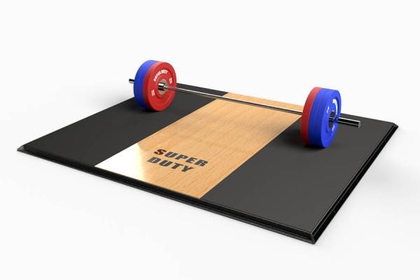 Super Duty Weightlifting Platform