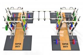 Super Duty Racks with Bridge