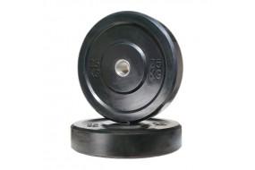 25kg Black Bumper Plate