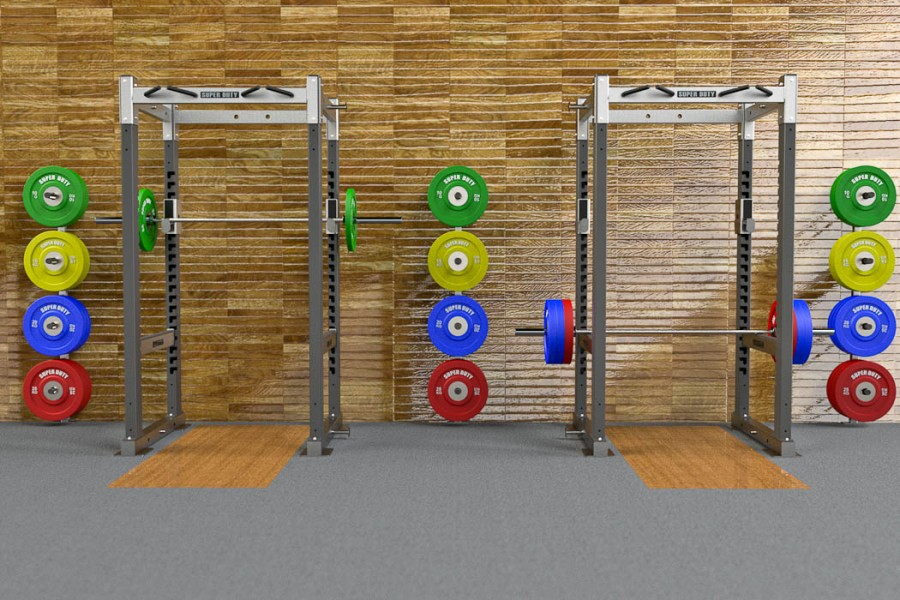Wall Mounted Per Plate Storage