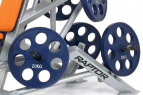 Rubber coated weight 15kg