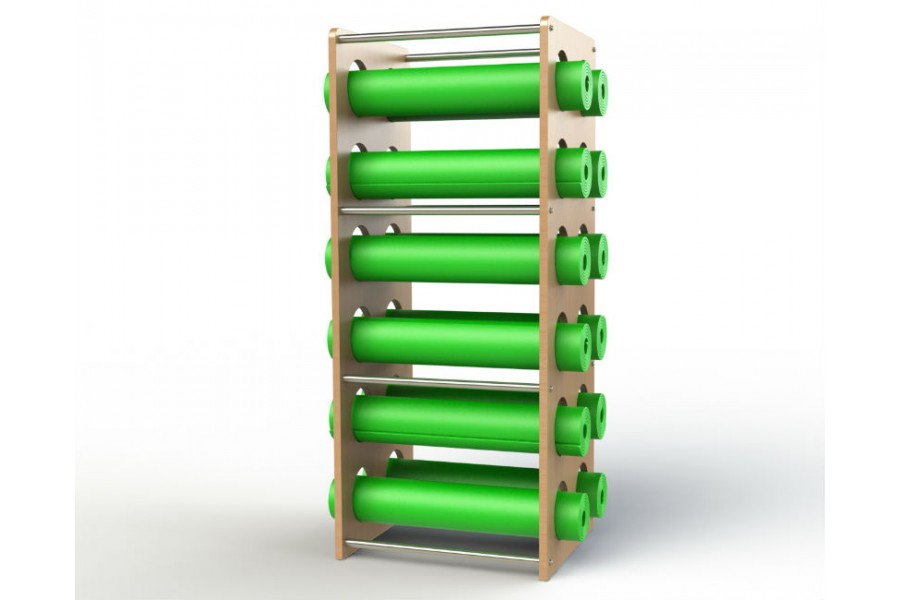 Foam Roller And Yoga Mat Tower
